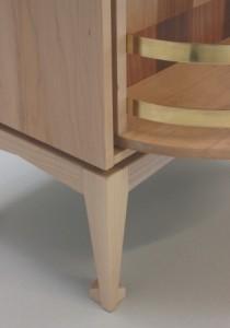 Gerard Scanlan drinks cabinet open front leg